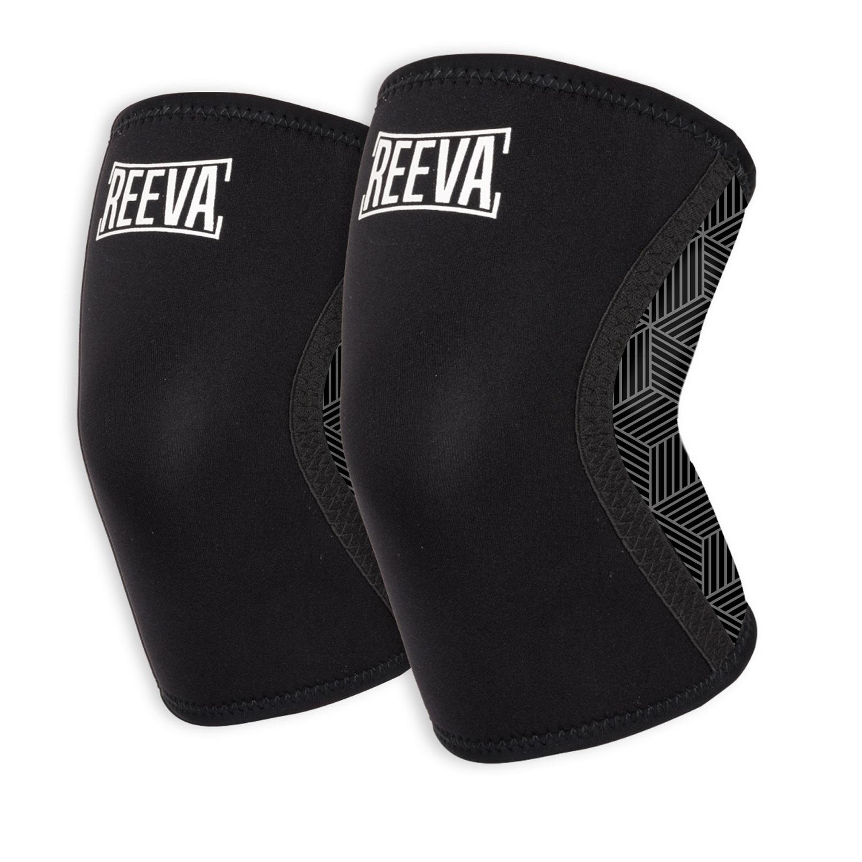 Reeva Knee Sleeves - Knie Bandages - 7 mm - XL