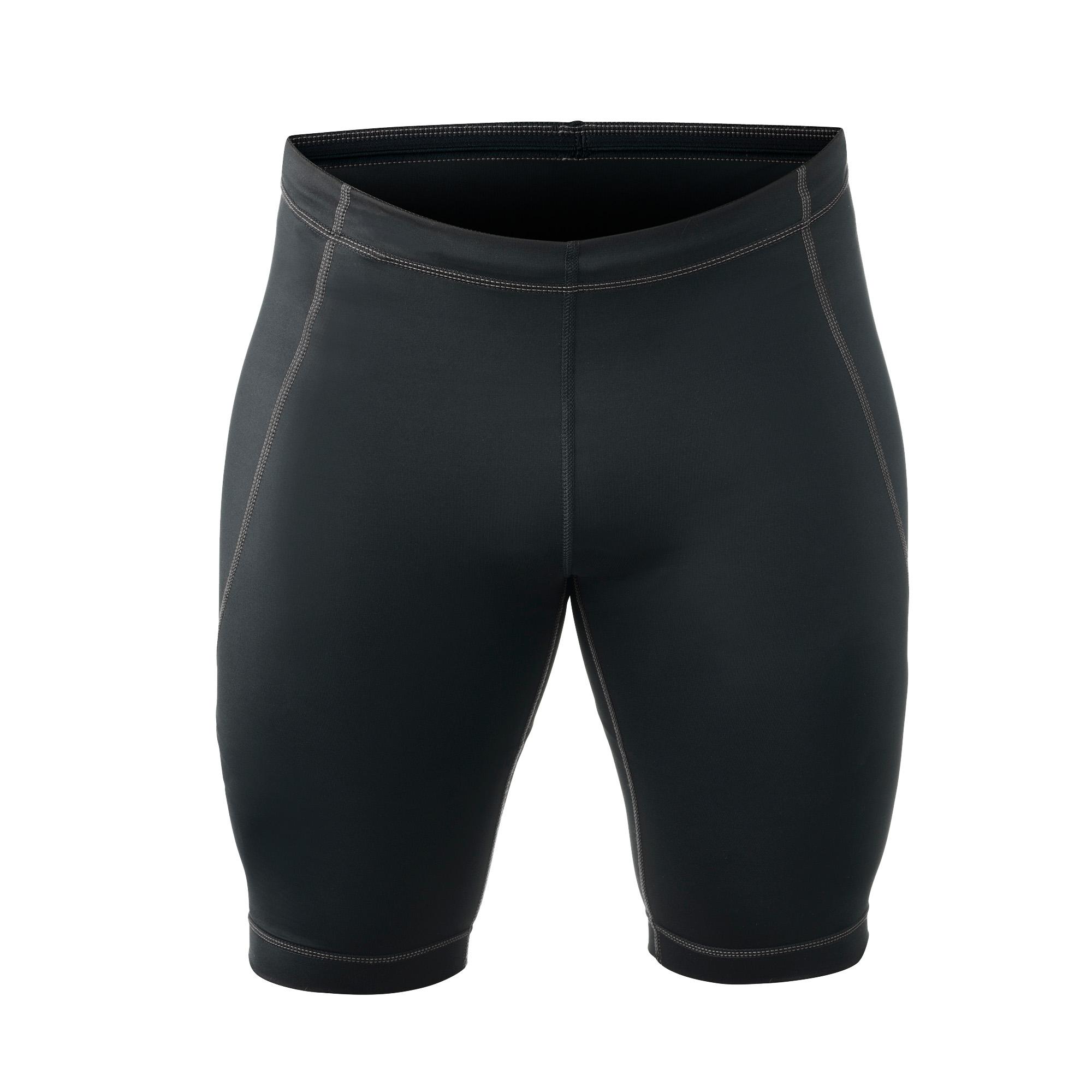 Rehband QD Compressie Shorts - Heren - Zwart - S