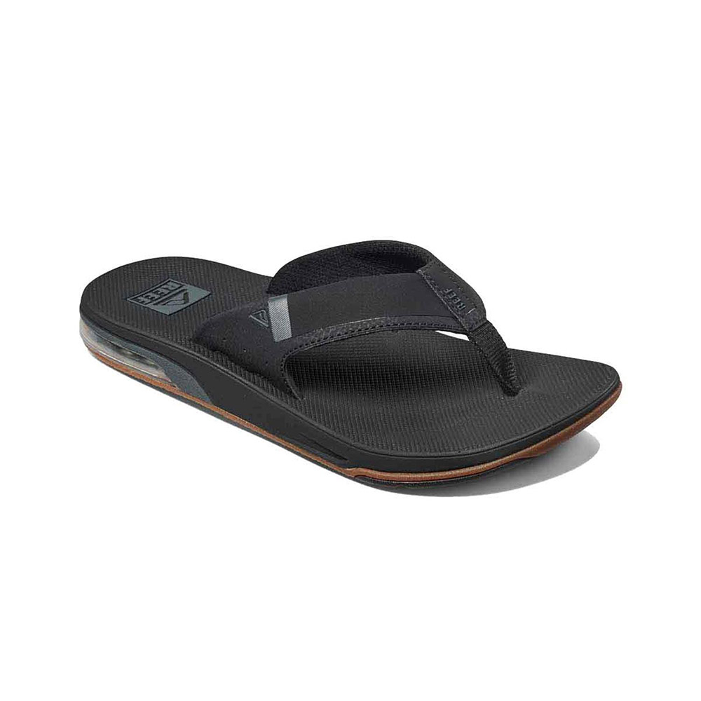 Reef Fanning Low teenslippers heren zwart
