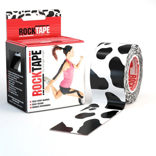 RockTape Classic Kinesiotape - Sporttape - 5 cm x 5 m - Koe