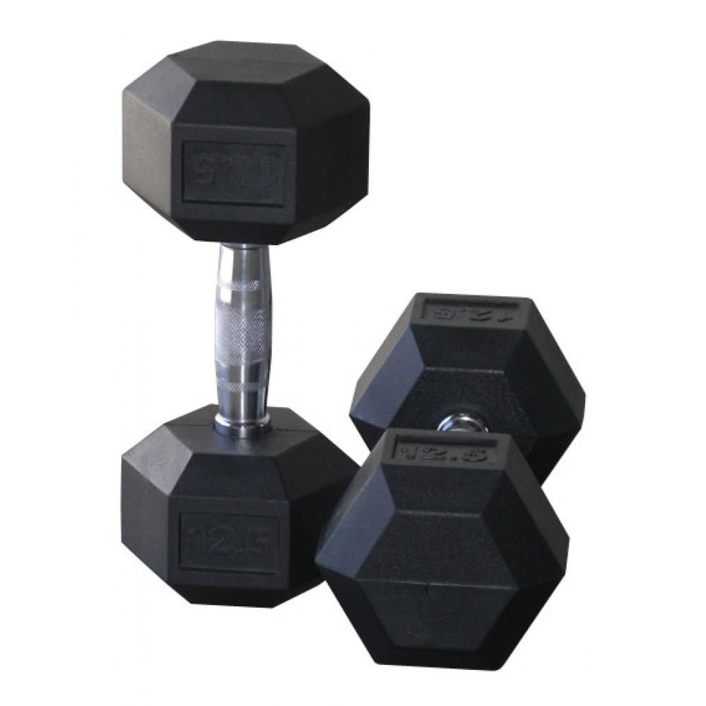 Crossmaxx Hexagon Halters per paar (2.5-40 kg)