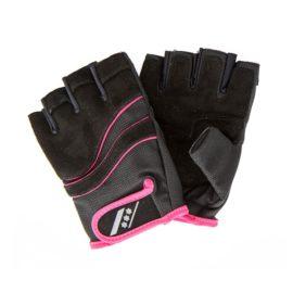 Rucanor Lara fitness handschoenen dames zwart/roze
