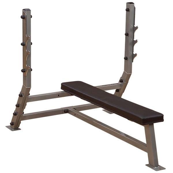 Body Solid Proclubline flat olympic bench