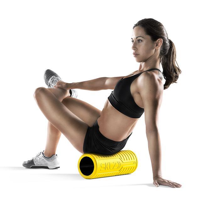 SKLZ  Barrel Roller XG - ultra stevige Foam Roller Geel (soft)