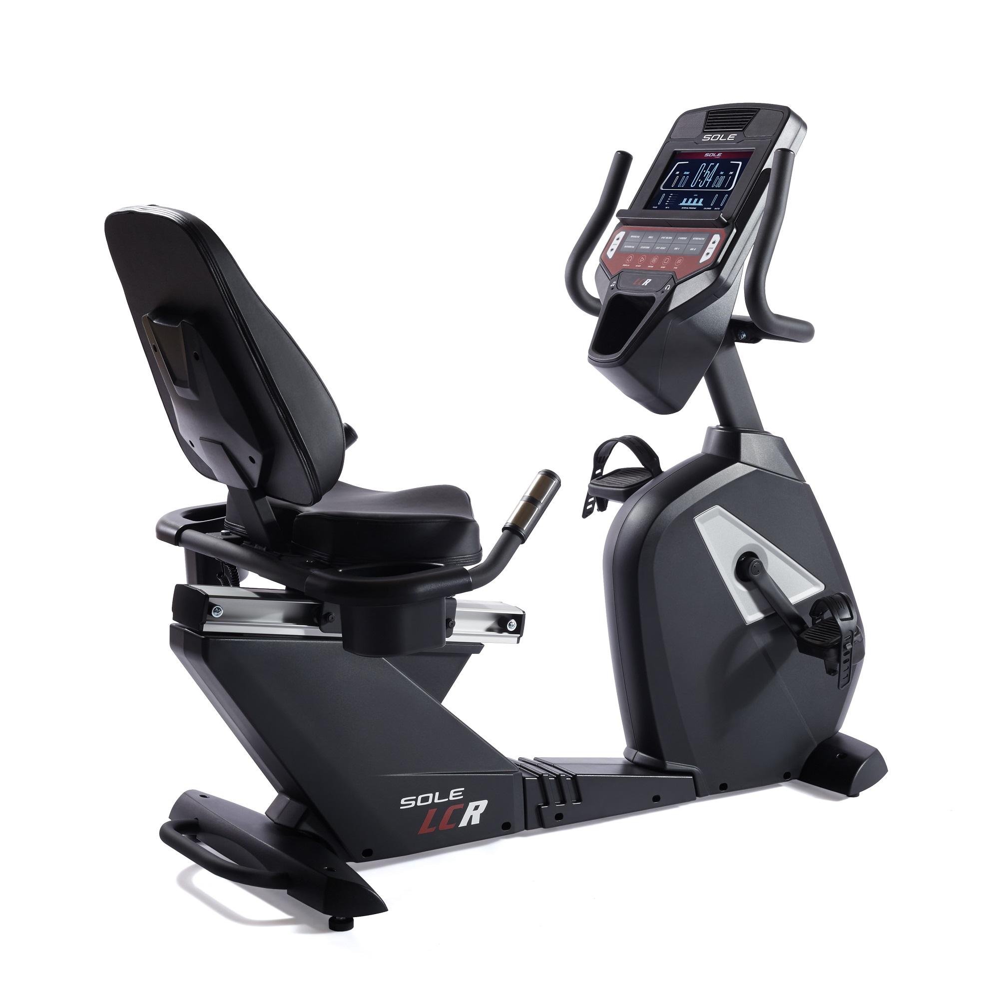 Sole Fitness LCR Ligfiets - Gratis trainingsschema