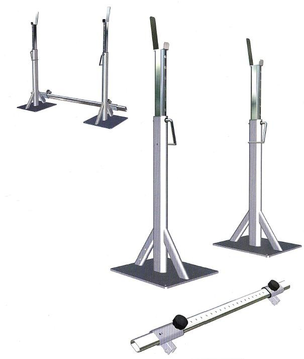 Heavy Duty Squat stand set