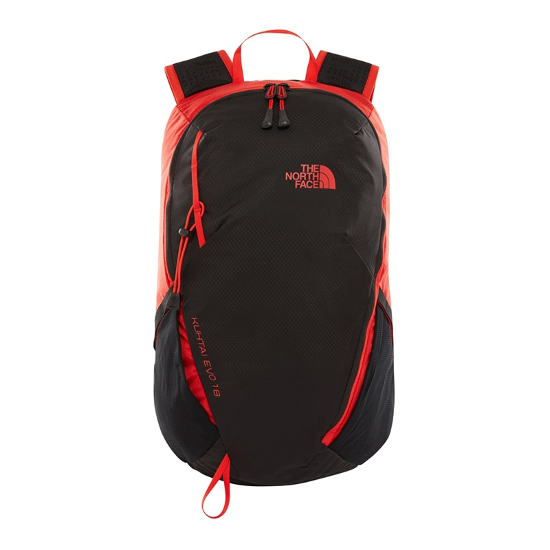 The North Face Kutai Evo 18 rugtas zwart/rood
