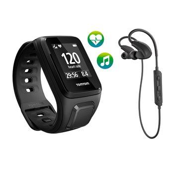 TomTom  Spark Cardio + Music + BT HP GPS Fitnesshorloge Small