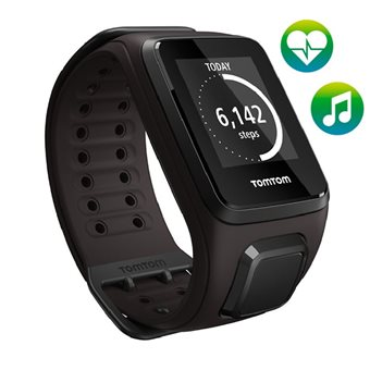 TomTom Spark Cardio + Music GPS Fitnesshorloge Large