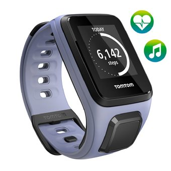 TomTom  Spark Cardio + Music GPS Fitnesshorloge Small