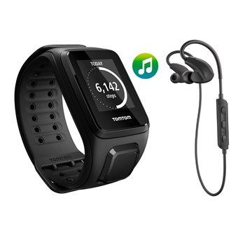 TomTom Spark Music + BT HP GPS Fitnesshorloge Large