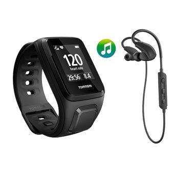 TomTom  Spark Music + BT HP GPS Fitnesshorloge Small