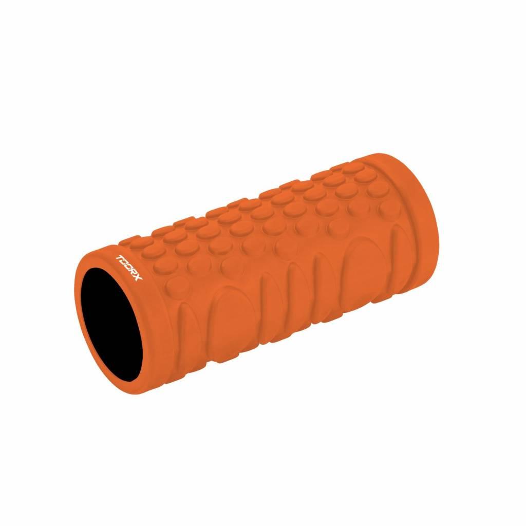 Toorx Grid Foam Roller - 33 cm x 14 cm - Oranje