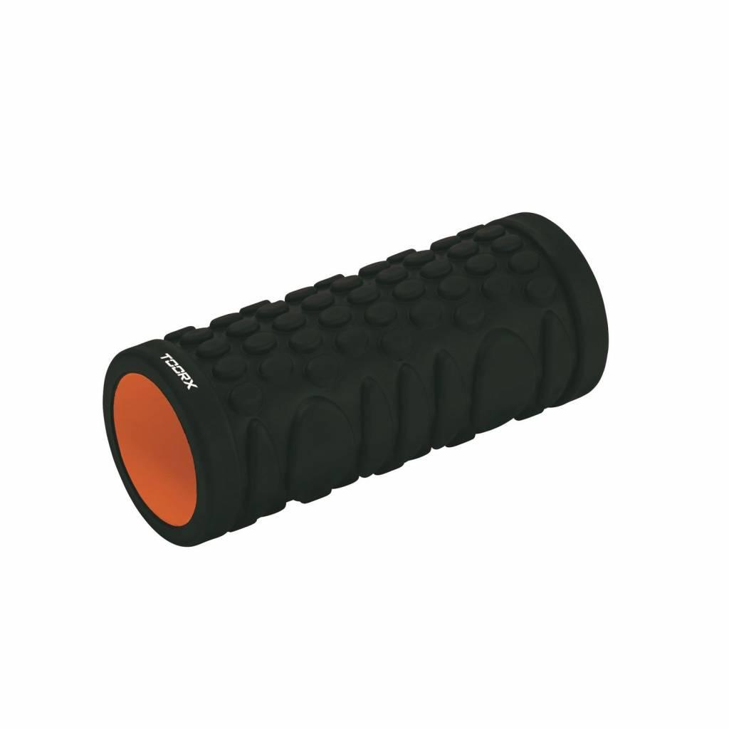 Toorx Grid Foam Roller - 33 cm x 14 cm - Zwart