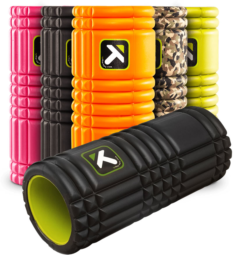 Triggerpoint The Grid Foam Roller - Zwart