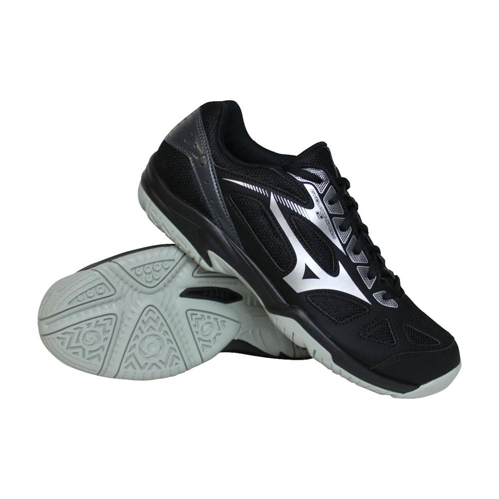 Mizuno Cyclone Speed 2 indoorschoenen heren zwart/zilver