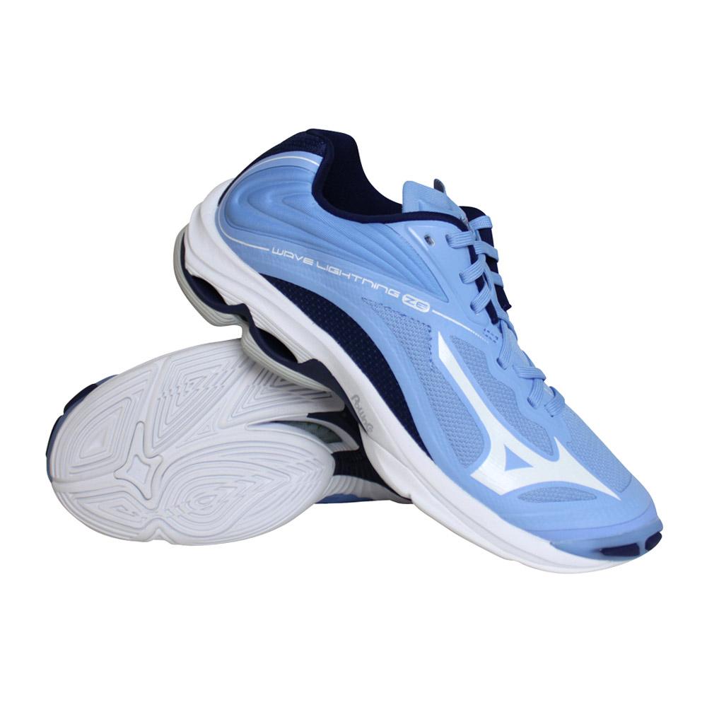 Mizuno Wave Lightning Z6 indoorschoenen dames blauw/wit