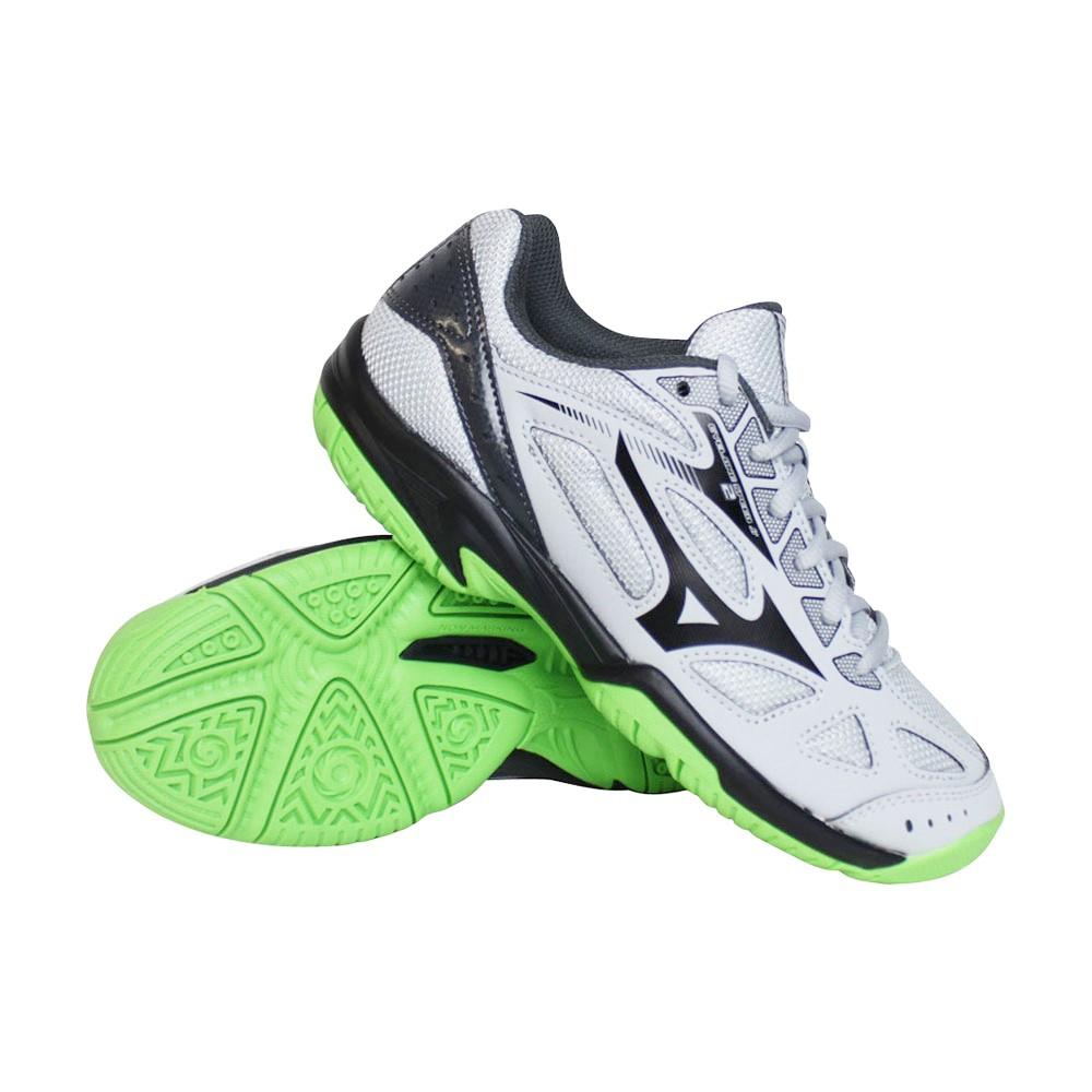 Mizuno Cyclone Speed 2 indoorschoenen jongens grijs/groen