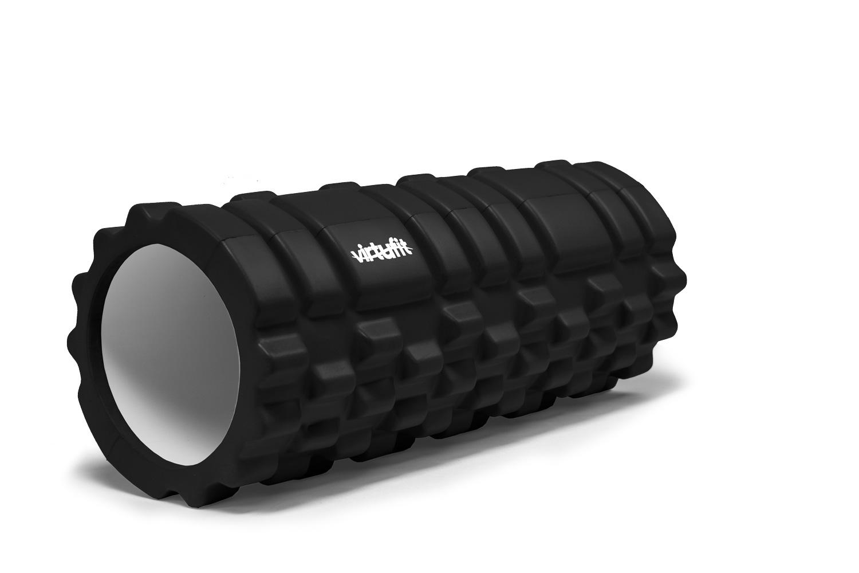 VirtuFit Grid Foam Roller - Massage roller - 33 cm - Zwart