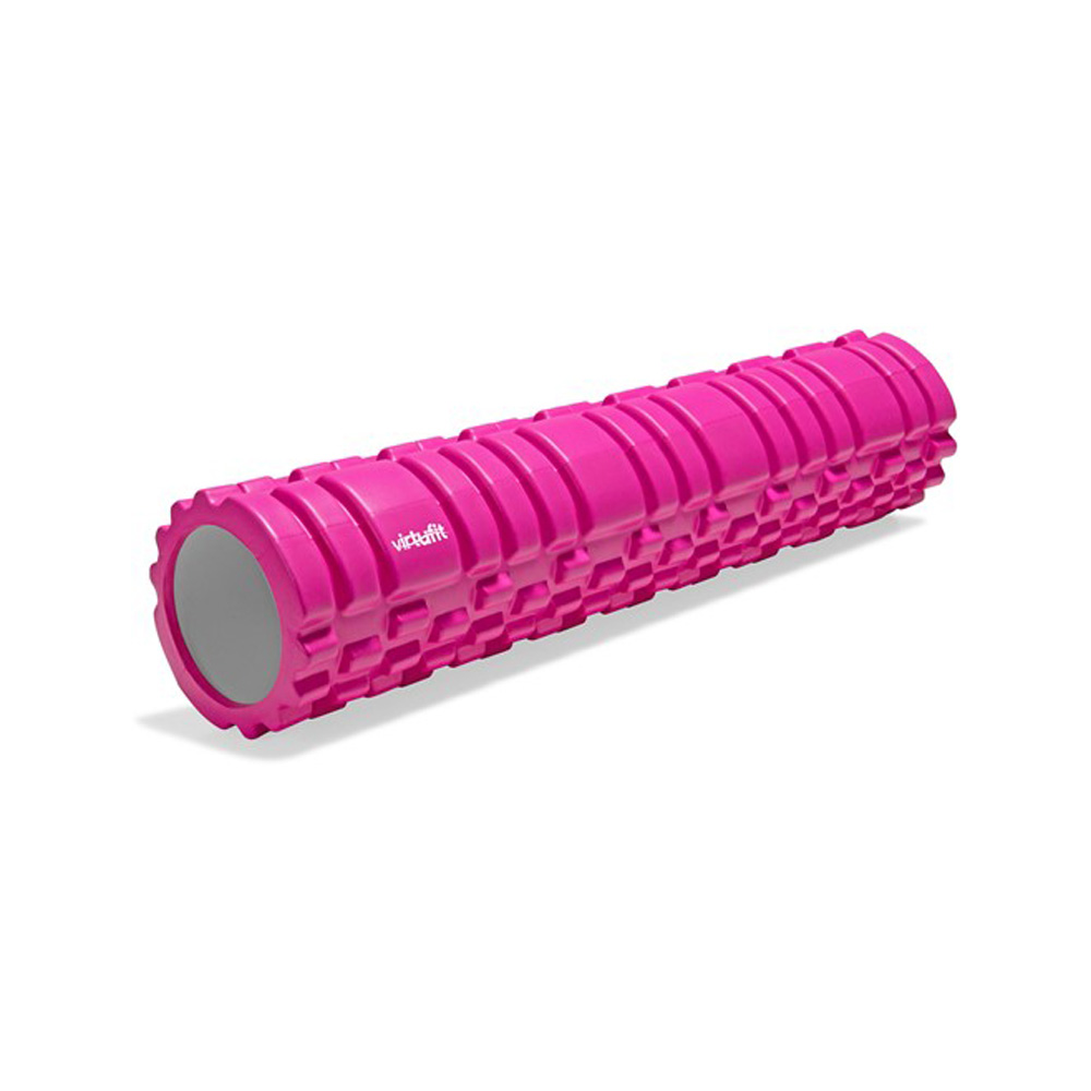 VirtuFit Grid Foam Roller - Massage roller - 62 cm - Roze