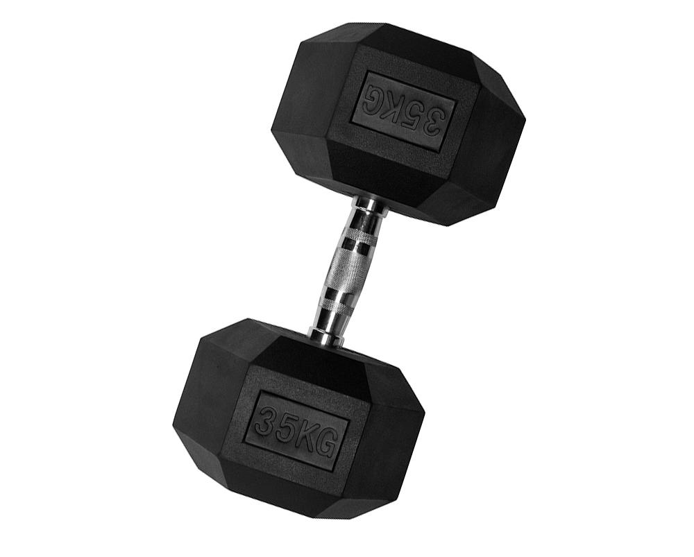 VirtuFit Hexa Dumbbell Pro - 35 kg - Per Stuk