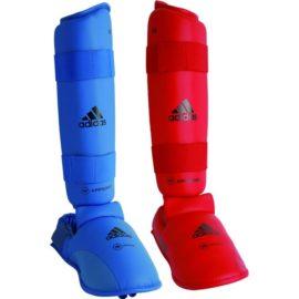 Adidas  WKF Scheenwreefbeschermer - Rood