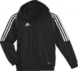 Adidas T12 Team Hoody - Jeugd - Zwart