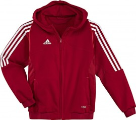 Adidas T12 Team Hoody - Jeugd - Rood