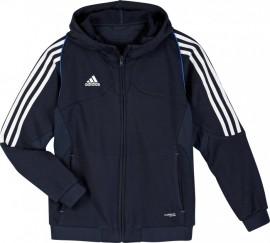 Adidas  T12 Team Hoody - Jeugd -Blauw