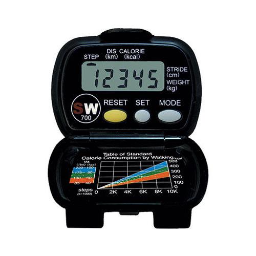 Yamax SW-700 stappenteller zwart