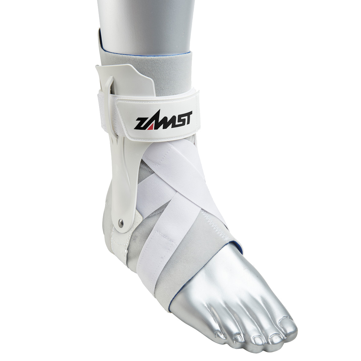 Zamst A2-DX Enkelbrace - Wit - Links - XL