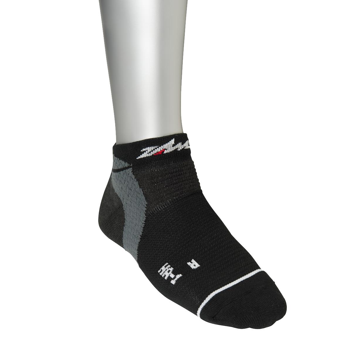 Zamst HA-1 Run Support Sokken - Zwart - L